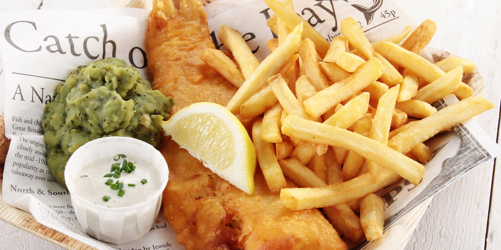 Necessities, Luxuries, and Fish & Chips